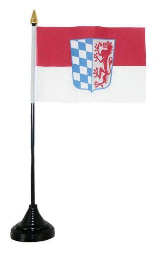 Tischfahne Niederbayern 11 x 16 cm Fahne Flagge