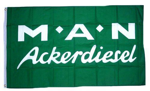 Fahne / Flagge MAN Ackerdiesel 90 x 150 cm