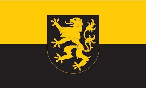 Fahne / Flagge Auerbach Vogtland 90 x 150 cm