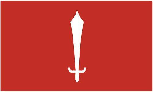 Fahne / Flagge Nepal - Katmandu 90 x 150 cm