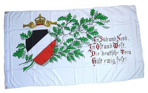 Fahne / Flagge Deutsches Reich Treue 90 x 150 cm
