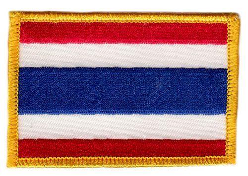 Fahnen Aufnäher Thailand
