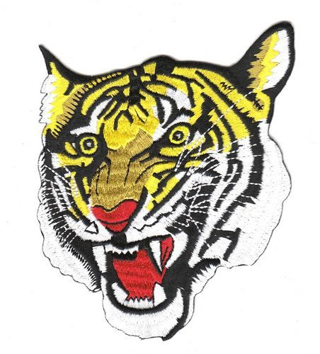 Aufnäher Patch Tiger 2