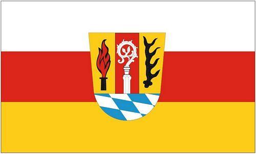 Fahne / Flagge Landkreis Eichstätt 90 x 150 cm