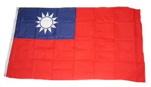 Flagge / Fahne Taiwan Hissflagge 90 x 150 cm