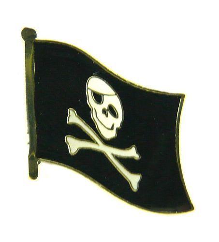 Flaggen Pin Fahne Pirat Pins NEU Anstecknadel Flagge