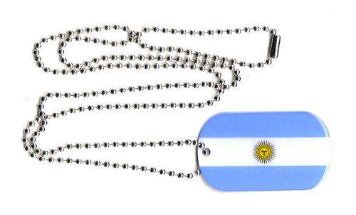 Dog Tag Fahne Fahne Argentinien