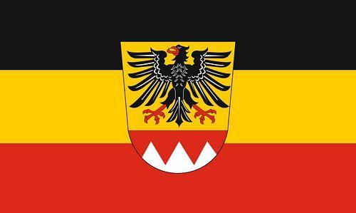 Fahne / Flagge Landkreis Schweinfurt 90 x 150 cm