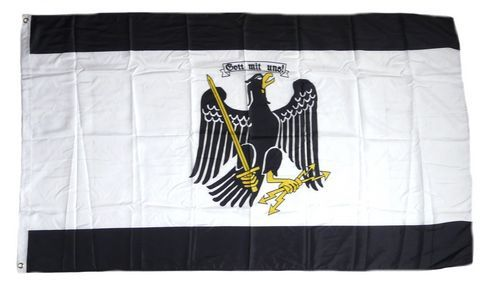 Fahne / Flagge Freistaat Preußen 90 x 150 cm