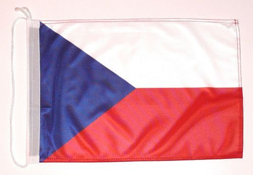 Bootsflagge Tschechien 30 x 45 cm
