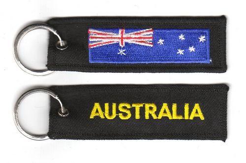 Fahnen Schlüsselanhänger Australien