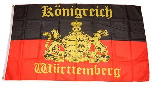 Fahne / Flagge Königreich Württemberg 150 x 250 cm