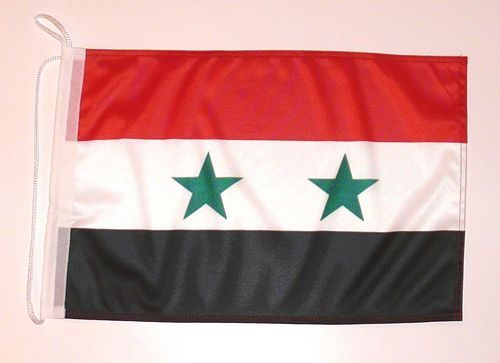 Bootsflagge Syrien 30 x 45 cm