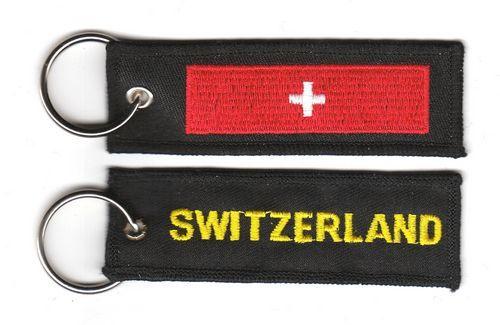 Fahnen Schlüsselanhänger Schweiz