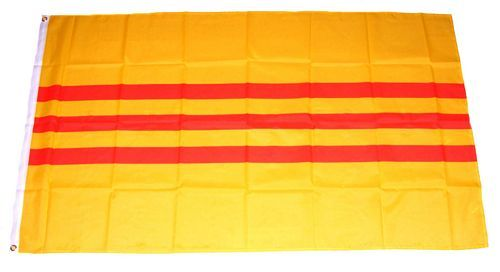 Fahne / Flagge Vietnam alt 90 x 150 cm