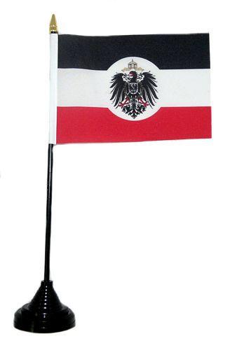 Tischfahne Deutsches Reich Kolonialamt 11 x 16 cm Flagge Fahne