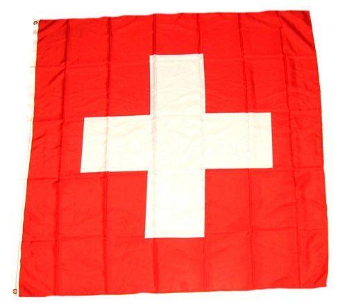 Fahne / Flagge Schweiz 150 x 150 cm