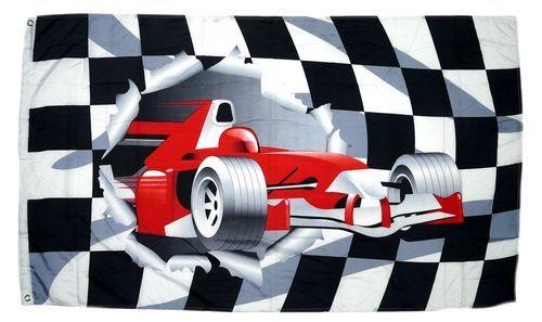 Fahne / Flagge Formel 1 Start Ziel 90 x 150 cm