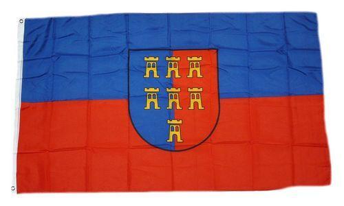 Fahne / Flagge Siebenbürgen Sachsen 150 x 250 cm