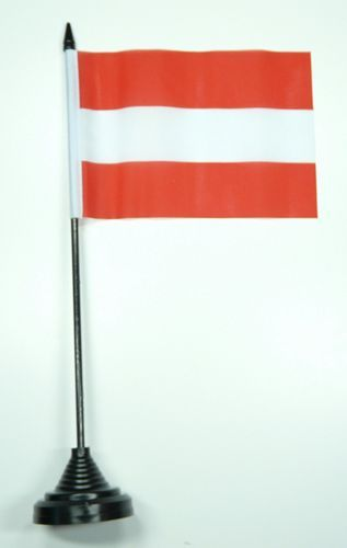 Fahne / Tischflagge Österreich NEU 11 x 16 cm Flaggen