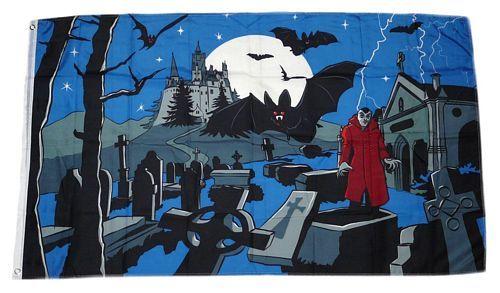 Fahne / Flagge Vampire Fledermaus90 x 150 cm