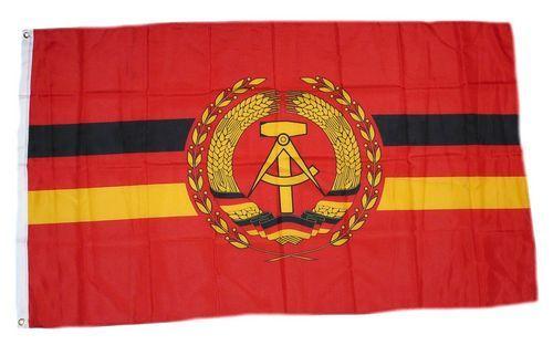 Fahne / Flagge DDR - NVA Volksmarine 90 x 150 cm