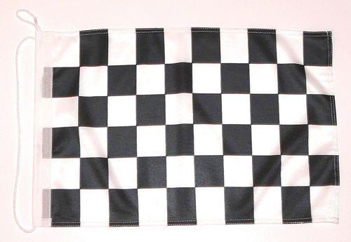 Bootsflagge Start / Ziel 30 x 45 cm