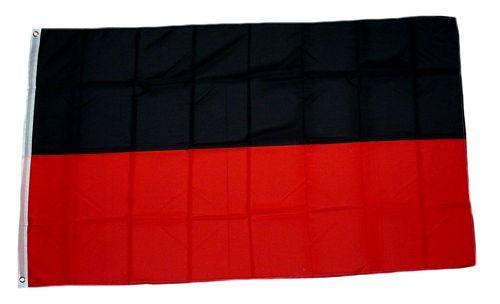 fahne flagge schwarz rot fanfahnen fun sonstiges. Black Bedroom Furniture Sets. Home Design Ideas