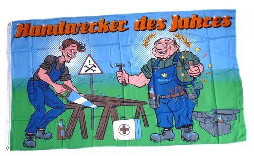 Fahne / Flagge Handwerker des Jahres 90 x 150 cm