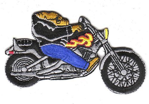 Aufnäher Patch Motorrad Chooper