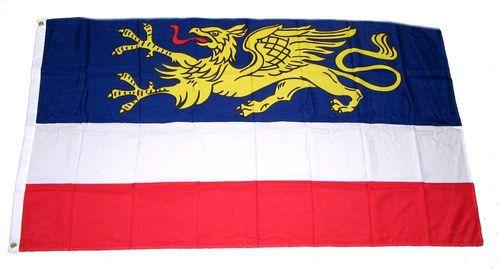 Flagge / Fahne Hansestadt Rostock Hissflagge 90 x 150 cm
