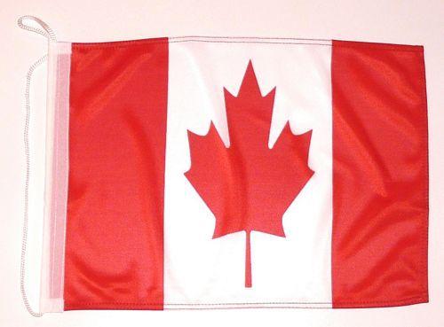 Bootsflagge Kanada 30 x 45 cm