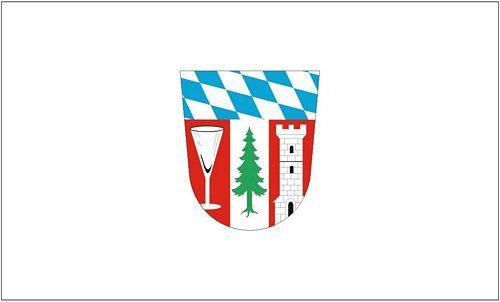 Fahne / Flagge Landkreis Regen 90 x 150 cm