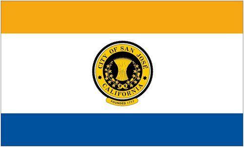 Fahne / Flagge USA - San Jose 90 x 150 cm