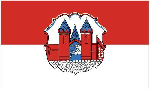 Fahne / Flagge Lichtenberg Oberfranken 90 x 150 cm