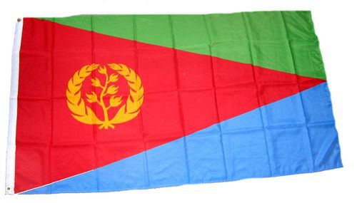 Flagge / Fahne Eritrea Hissflagge 90 x 150 cm