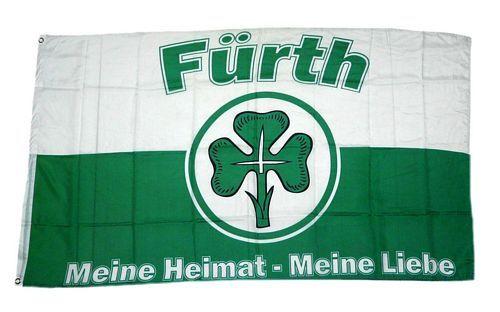 Fahne / Flagge Fußball Fürth 90 x 150 cm