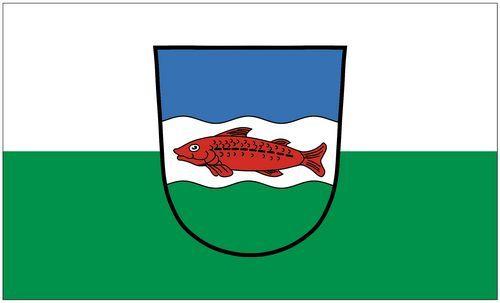 Fahne / Flagge Schwarzenbach Saale 90 x 150 cm