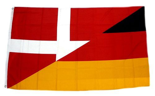 Fahne / Flagge Deutschland / Dänemark 90 x 150 cm