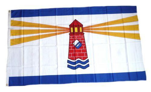 Flagge / Fahne Westerland Sylt Hissflagge 90 x 150 cm
