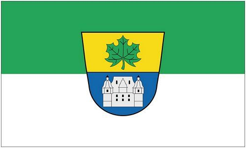 Fahne / Flagge Ahorn Landkreis Coburg 90 x 150 cm
