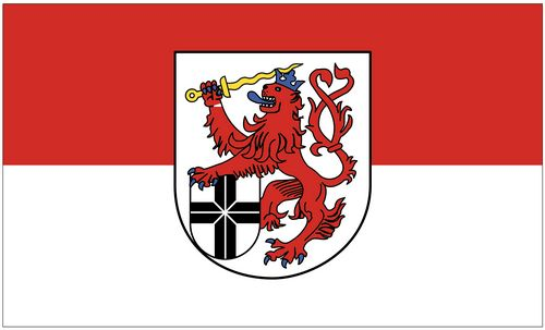 Flagge Sammeln & Seltenes Länder, Regionen & Städte Fahne Lippstadt Hissflagge 90 x 150 cm