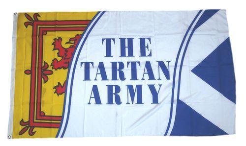 Fahne / Flagge Schottland Tartan Army 90 x 150 cm