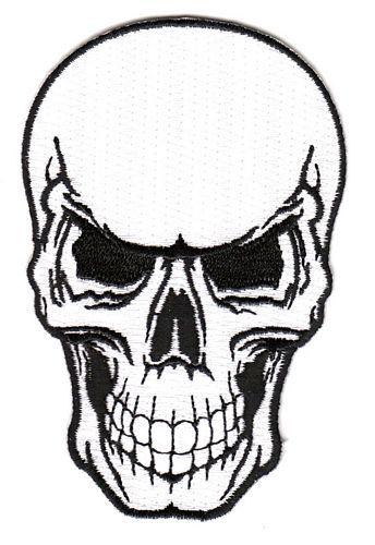 Aufnäher Patch Totenkopf Skull