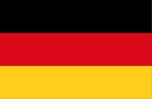 Fahnen Aufkleber Sticker Deutschland