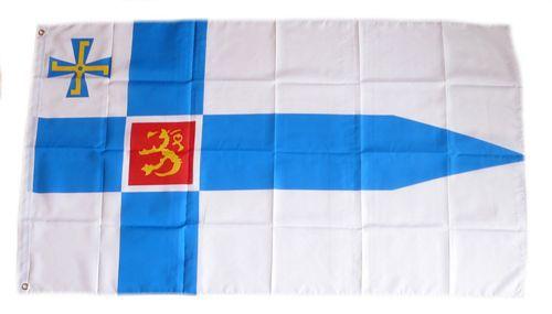 Flagge / Fahne Finnland Präsident Hissflagge 90 x 150 cm