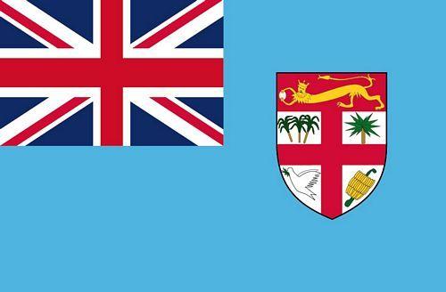 Fahnen Aufkleber Sticker Fidschi Inseln