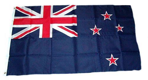 Flagge / Fahne Neuseeland Hissflagge 90 x 150 cm