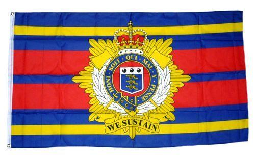 Fahne / Flagge Großbritannien Royal Logistic Corps 90 x 150 cm