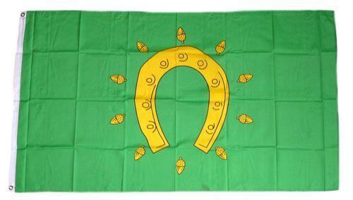 Fahne / Flagge England - Rutland 90 x 150 Flaggen